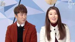 장동민 - 나비, 생방송 도중 열애