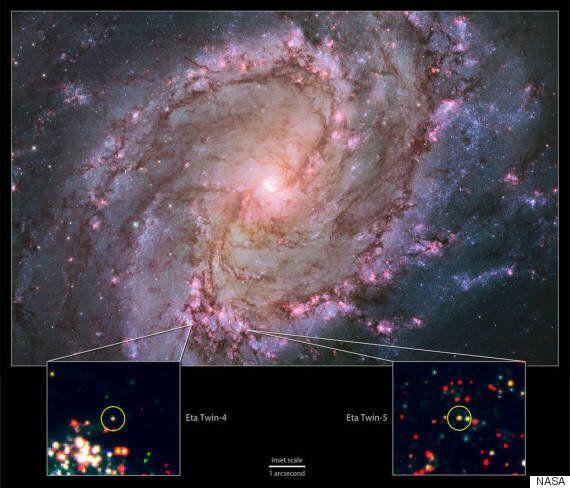 은하계 밖 초거대 항성 5개가