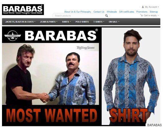 마약왕 엘 차포 때문에 대박난 셔츠 브랜드가