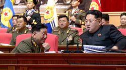 북한의 2인자가 1인자를 대하는