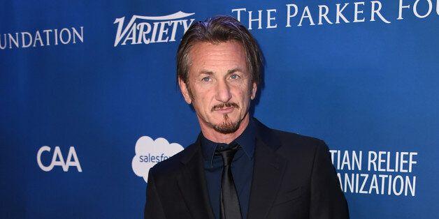 Sean Penn arrives at the 5th Annual Sean Penn & Friends HELP HAITI HOME Gala Benefiting at the Montage...