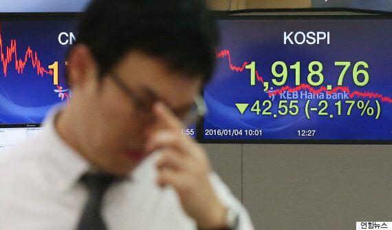 중국 증시 폭락에 아시아 금융시장