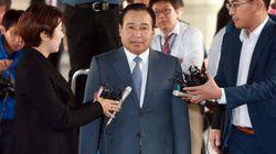 검찰, 이완구 전 총리에 징역 1년