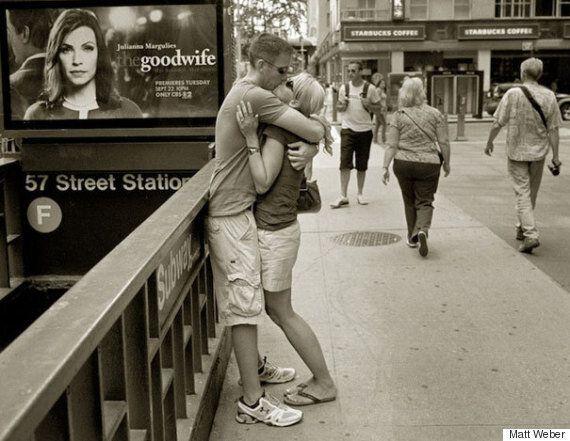 뉴욕 연인들의 키스를 30년 동안 찍었다(사진