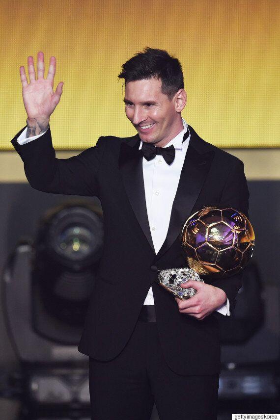 메시가 호날두에게서 'FIFA 올해의 선수상'을 다시