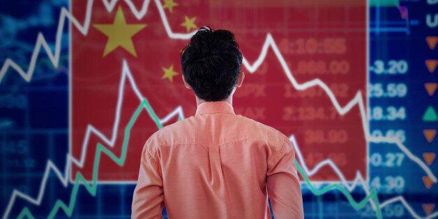 중국 증시 또 5% 폭락 : 아시아 증시가