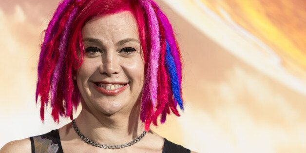 FILE - In this Monday, Feb. 2, 2015 file photo, filmmaker Lana Wachowski attends the premiere of Warner...