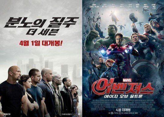2015 전세계 흥행 영화 결산