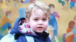 영국 조지 왕자, 유치원 가던