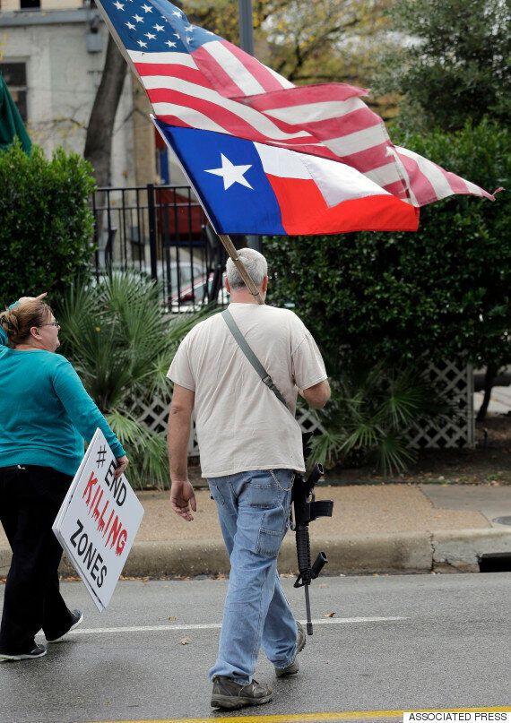 미국 총기면허 1위 텍사스주, '총기 공개 휴대' 정책