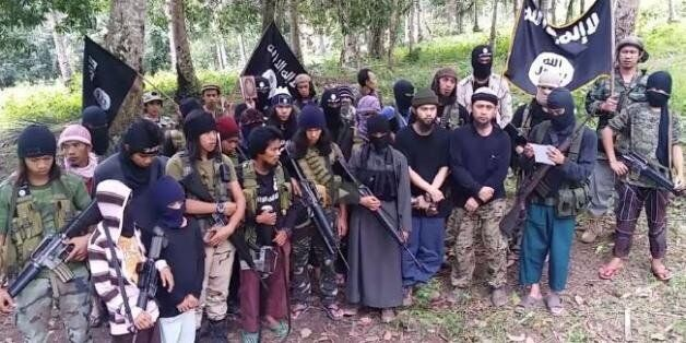 아시아 4개 무장단체, '이슬람국가' 깃발 아래