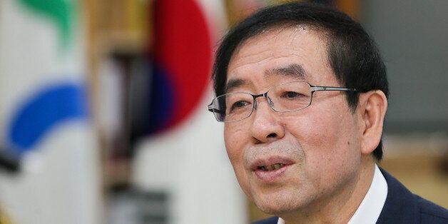 서울시장 출근길 막던 '동성애 반대' 목사가