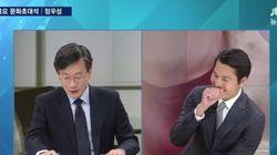 [트윗모음] 손석희-정우성의 훈훈한