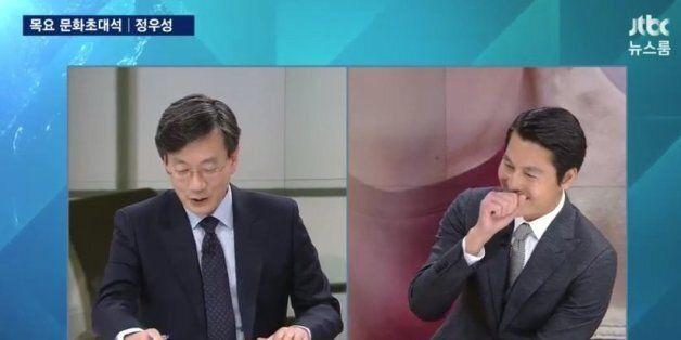 [트윗모음] 손석희-정우성 훈훈한 만남의
