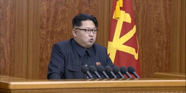 북한 김정은의 신년사 :