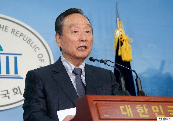 '동교동계' 좌장 권노갑, 더민주당 탈당