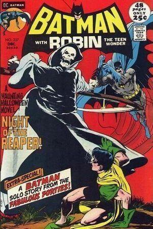 사신과 싸우는 뱃신 | 배트맨의 초자연적