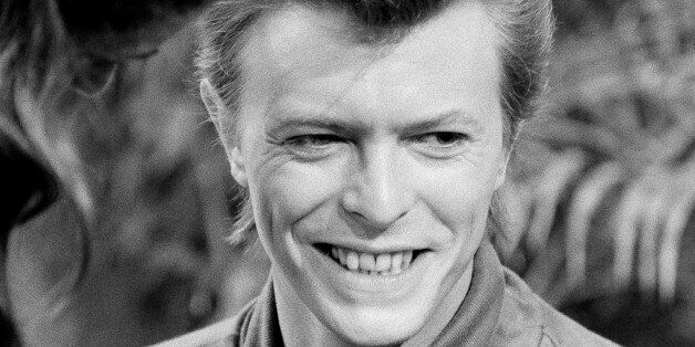 David Bowie is shown as he prepares for an appearance on