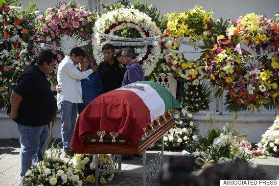 갱단에 피살된 멕시코 시장, 마지막 순간에 가족을