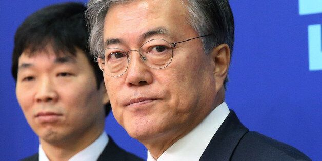 문재인이 '김한길 탈당'에 보인