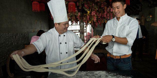 홍콩의 한 식당