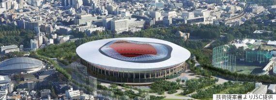 2020 도쿄 올림픽 메인 스타디움 건설을 위한 2장의