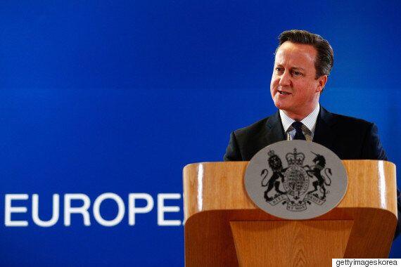 캐머런 영국 총리, 브렉시트 '국민투표' 내년 실시
