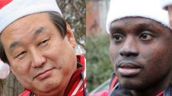 김무성에 '연탄'발언 들은 조슈아와 로이터 특파원의