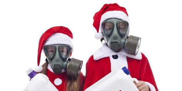 화이트 크리스마스가 아니라 스모그 크리스마스가