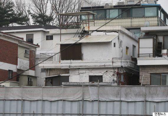 은평구 빌라 공사장 주변 집 8채에 갑작스런 균열, 주민