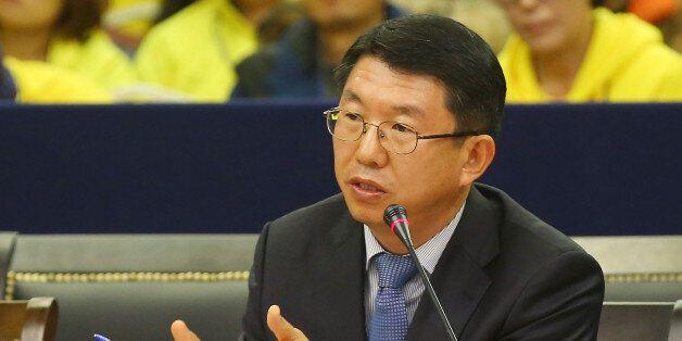 '거짓 퇴선방송' 기자회견, 김석균 전 청장 지시