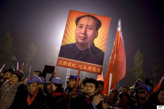 마오쩌둥 탄생 122주년 맞아 고향에 수만명이