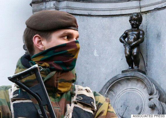벨기에 브뤼셀, 테러 위협으로 새해 불꽃놀이