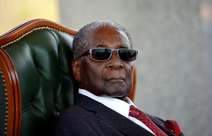 By the end of his time his power, Robert Mugabe was denounced at home and abroad as a power-obsessed autocrat willing to unle
