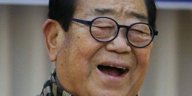 88세 송해, 결혼 63년 만에 첫 결혼식