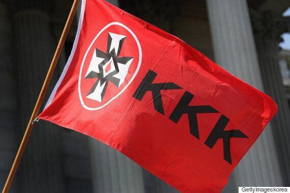KKK가 살아나고 있다. 트럼프