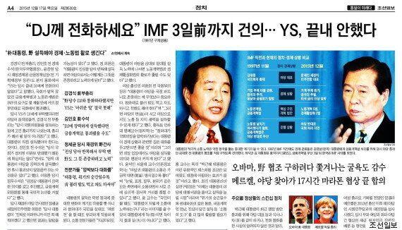 조선·동아일보도 걱정하는 박근혜 대통령의