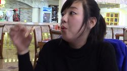 춤과 노래를 선사하는 북한의 피자가게에