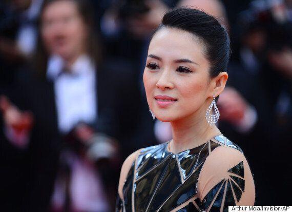 중국 영화배우 장쯔이, 미국서 첫 딸