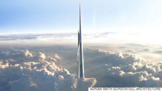 사우디 아라비아, 세계에서 가장 높은 건물 짓는다(조감도,