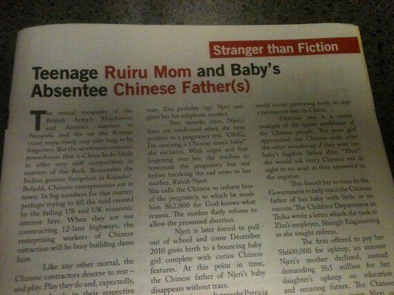 케냐에서 만난 중국 | Chinese Babies를