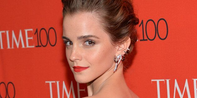 Actress Emma Watson attends the TIME 100 Gala, celebrating the 100 most influential people in the world,...