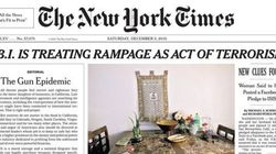 뉴욕타임스, 95년만에 '1면 사설'을