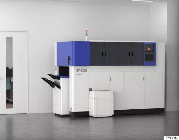 엡손 사무실용 종이 재생산 기계