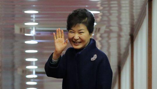 [화보] 박근혜 대통령 출국하던