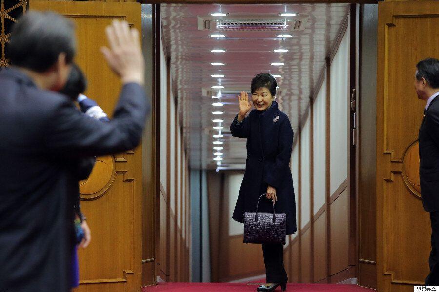 [화보] 박근혜 대통령, 파리 기후변화 정상회의 참석차
