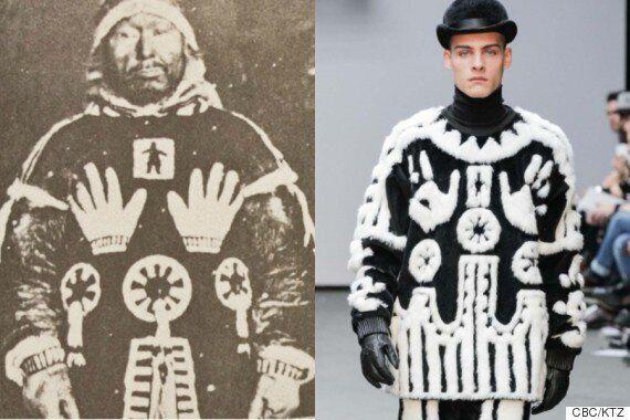 이누이트족의 옷을 카피한 KTZ,