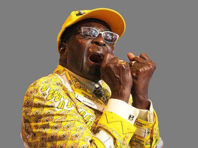 Robert Mugabe headshot, former Zimbabwe