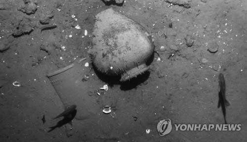 카리브해 발견 스페인 보물선