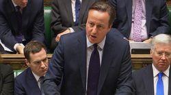 영국 의회, IS 시리아 공습